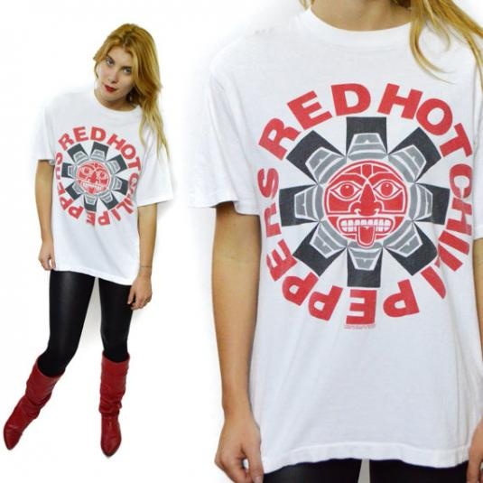 VTG 90s Red Hot Chili Peppers Blood Sugar Sex Magik T Shirt
