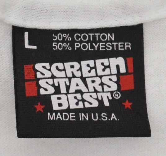 Vintage 90s Arkansas River Blues Festival 1991 T Shirt Sz L
