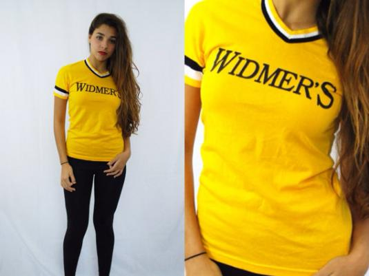 Vintage 80's Softball Widmer's No. 17 Ringer T-Shirt