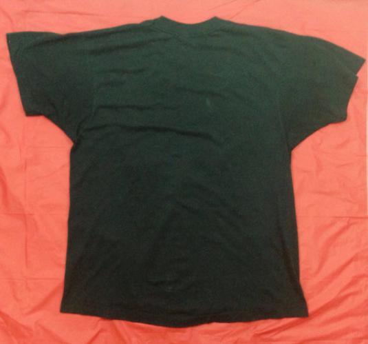 Vintage 80s MISFITS Evil Never Dies Punk Rock Rare T Shirt
