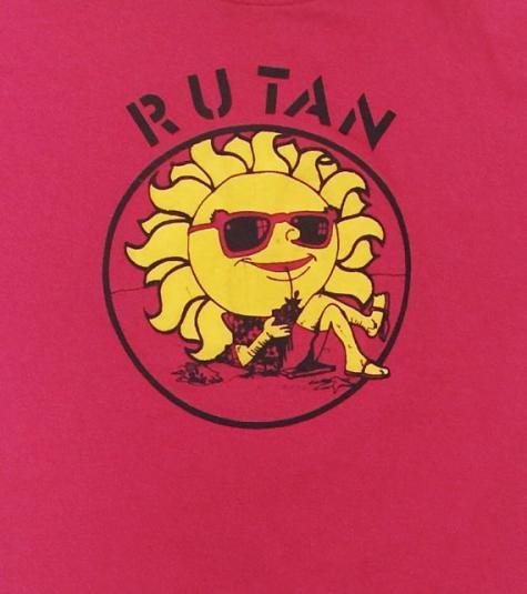 Vintage 80s Rutan Jerzees 50/50 T Shirt Sz M
