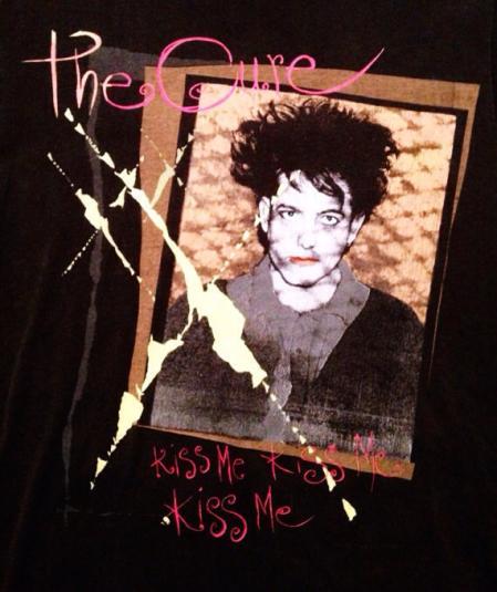 Vintage 80s THE CURE Robert Smith Kiss Me Kiss Me Kiss Me Go