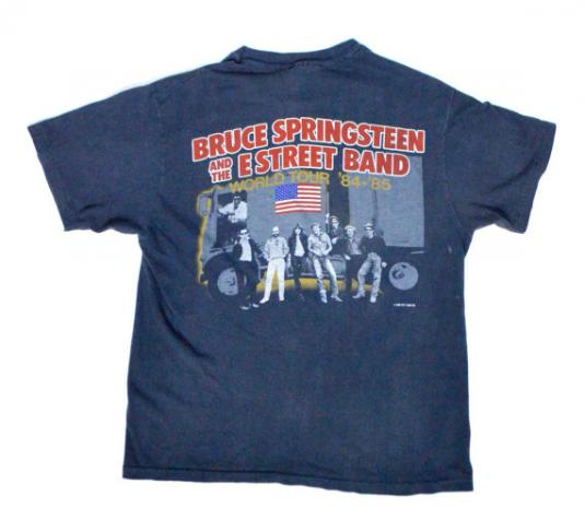 Vintage 80s Bruce Springsteen & The E Street Band T Shirt