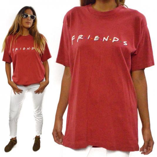 Vintage 90s Friends TV Show T Promotional T Shirt Sz L