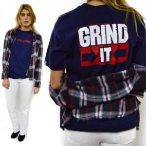 Vintage 80s VISION STREET WEAR If It's Hard Grind It T Shirt