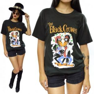 Vintage 90s The Black Crowes Shake Your Money Maker Tour T S