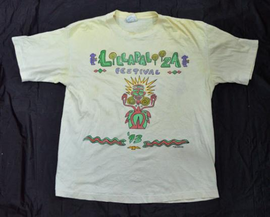 Vintage 90s LOLLAPALOOZA Festival '93 T Shirt