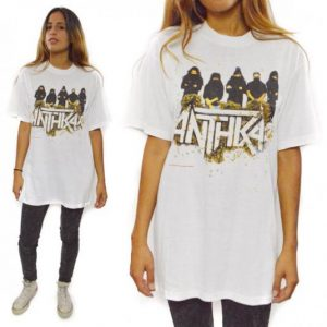 Vintage 90s Anthrax Attack of the Killer B's Thrash Metal T