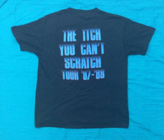 Vintage 80s FASTER PUSSYCAT Itch You Can't Scratch T Shirt