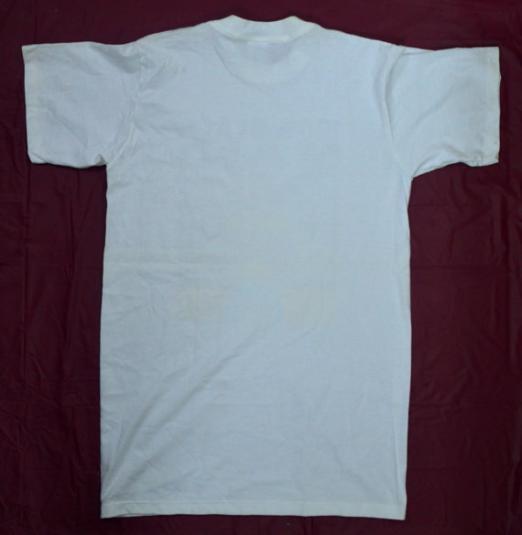 Vintage 90s 100% Black Man T Shirt Sz M