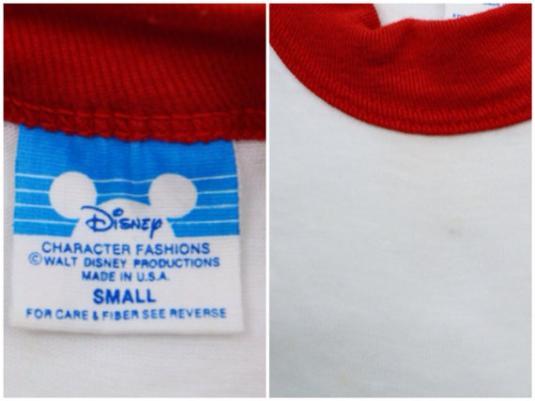 Vintage 80s Disney Grad Nite 83 Mickey Mouse Raglan Jersey