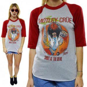 Vintage 80s Mötley Crüe Shout At The Devil Jersey