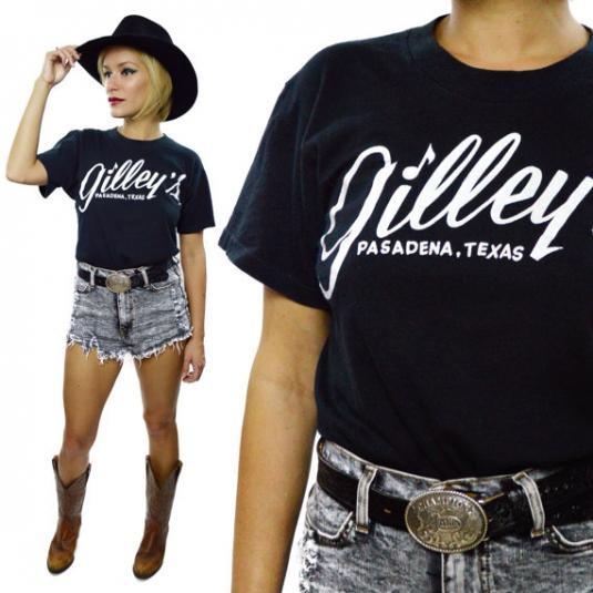 Vintage 80s Gilley's Pasadena Texas Honky Tonk T Shirt