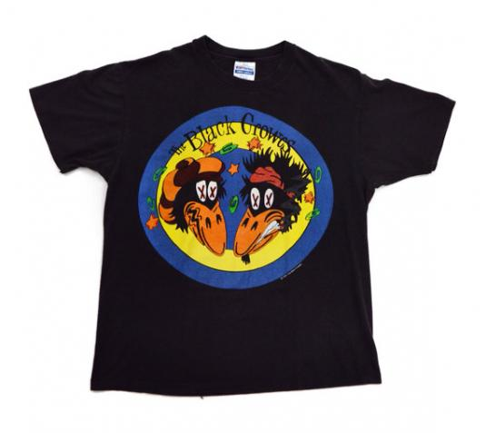Vintage 90s The Black Crowes High As The Moon 1992 T Shirt S