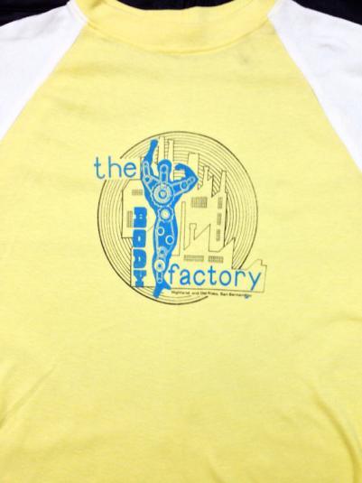 Vintage 80s The Body Factory San Bernardino Muscle T Shirt