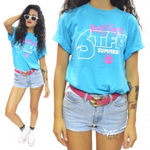 Vintage 80s Party Hard Stiff Summer '86 T Shirt Sz L