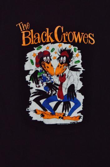 Vintage 90s The Black Crowes Shake Your Money Maker T Shirt