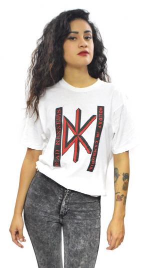 Vintage 80s Dead Kennedys Holiday in Cambodia Punk T Shirt S