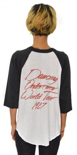 Vintage 80s Ratt Dancing Undercover Tour T Shirt Sz L
