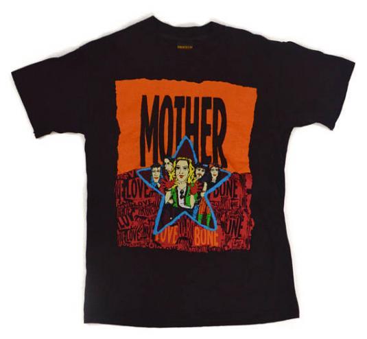 Vintage 90s Mother Love Bone Alternative Rock T Shirt Sz L