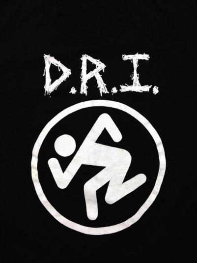 Vintage 80s D.R.I. Dirty Rotten Imbeciles Thrash Metal 50/50