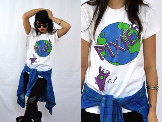 Vintage 90s PIXIES Trompe Le Monde T Shirt Sz L