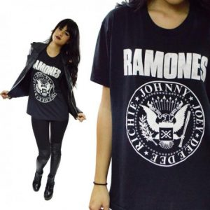 Vintage 80s Ramones Hey Ho Let's Go T Shirt