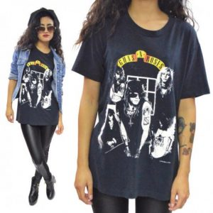Vintage 80s Guns N' Roses Appetite for Destruction T Shirt L