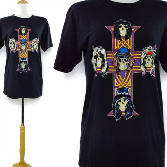 Vintage 80s Guns N' Roses Appetite For Destruction T Shirt