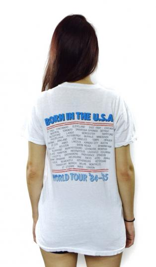 Vintage 80s Bruce Springsteen Born in The U.S.A. T Shirt
