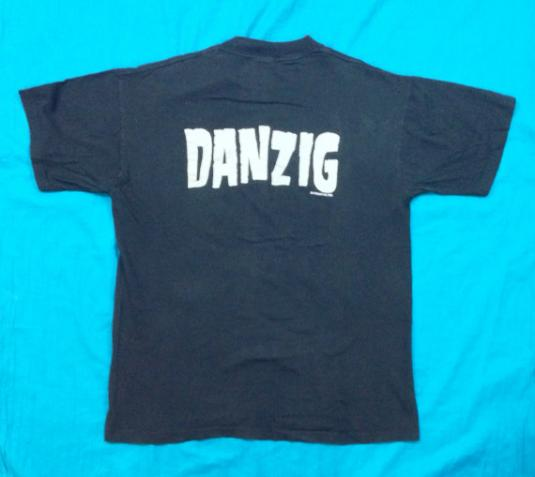 Vintage 80s DANZIG 1988 Def American T Shirt Sz L