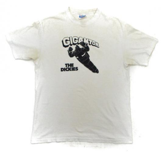 Vintage The Dickies Gigantor So Cal Punk T Shirt Sz L