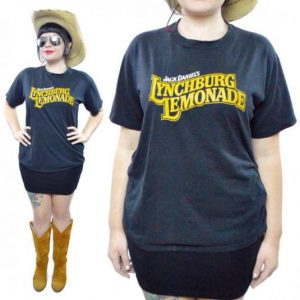 Vintage 80s Jack Daniel's Lynchburg Lemonade Liquor T Shirt