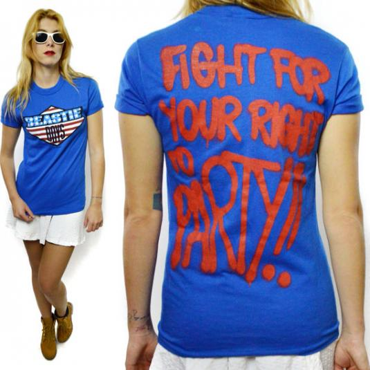 Vintage 80s Beastie Boys Fight For Your Right To Party Rare