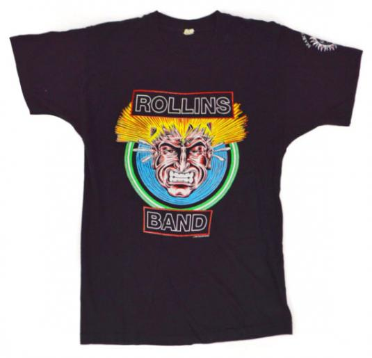 Vintage 90s Rollins Band The End of Silence T Shirt Sz L