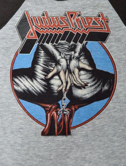 Vintage 80s Judas Priest Keep The Faith Defenders Jersey