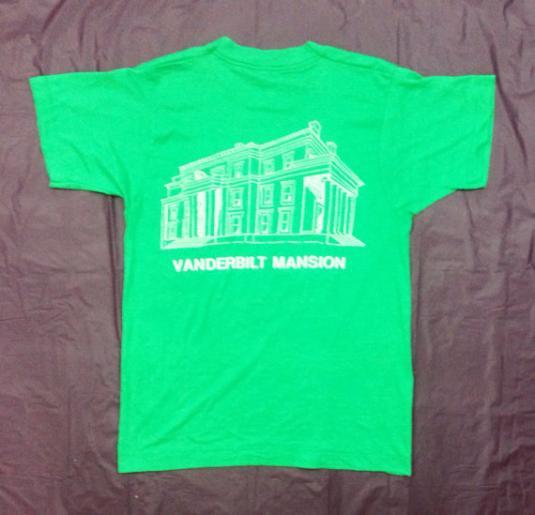 Vintage 80s VANDERBILT MANSION Tee Screen Stars T Shirt
