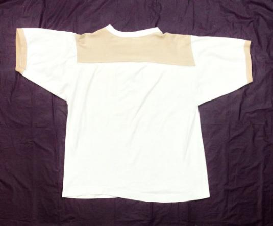 Vintage 80s Osgood Jaycees Distressed Ringer T Shirt Sz M