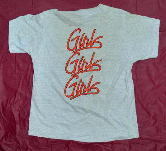 Vintage 80s Mötley Crüe Girls Girls Girls T Shirt