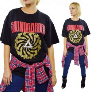 Vintage 90s Soundgarden Badmotorfinger T Shirt Sz L