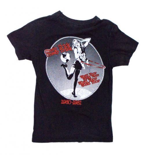 Vintage 80s CHEAP TRICK All Shook Up World Tour T Shirt