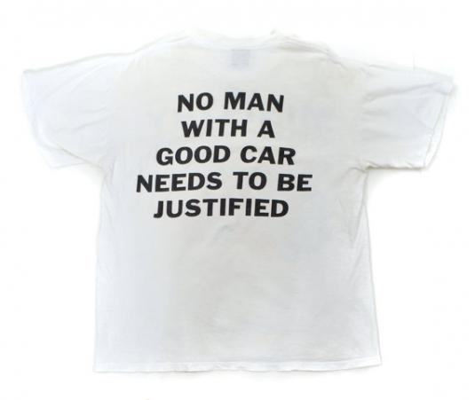 Vintage 90s Ministry Jesus Built My Hotrod Psalm 69 T Shirt