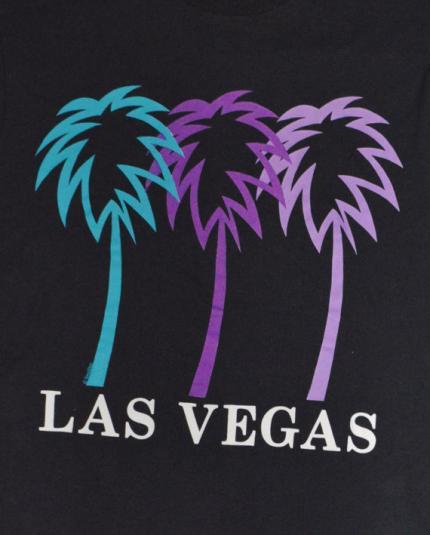 Vintage 80s Las Vegas Screen Stars T Shirt Sz L