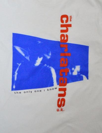 Vintage 90s The Charlatans U.K. The Only One I Know T Shirt