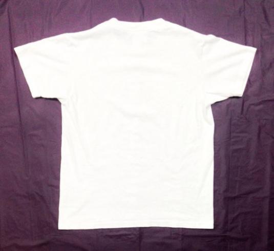 Vintage 80s ELVIS PRESLEY Presley's Memphis White T Shirt