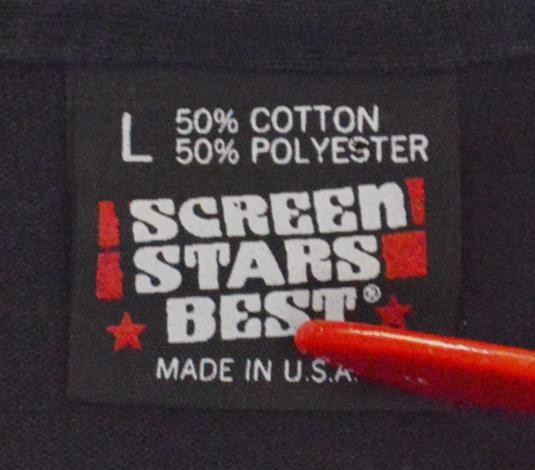 Vintage 90s Stick Figure Tennis Screen Stars Best T Shirt