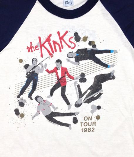 VTG 80s THE KINKS Give The People What They Want Jersey