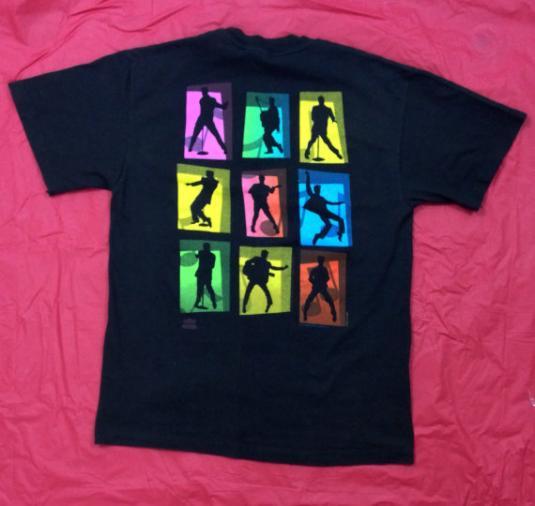 Vintage 90s ELVIS PRESLEY The King Jailhouse Rock T Shirt