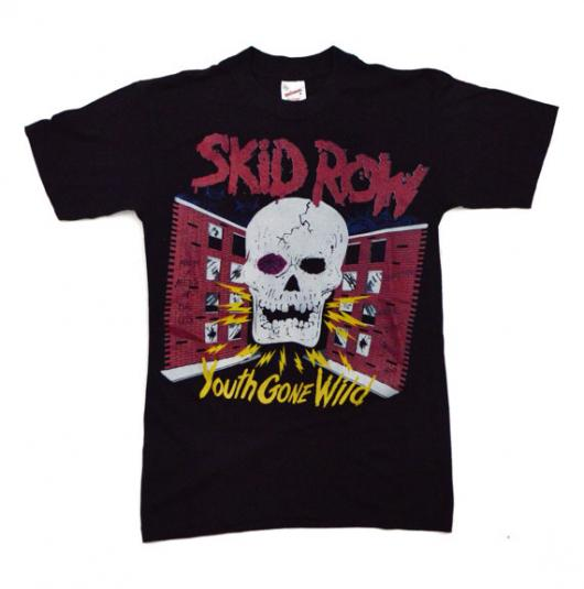 Vintage 80s Skid Row Youth Gone Wild T Shirt