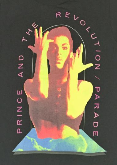 Vintage 80s Prince and the Revolution Parade Tour T Shirt